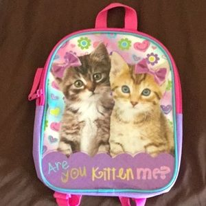 Are you kitten me? Small backpack. NWOT